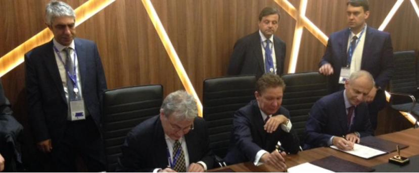 Gazprom, DEPA and Edison ink Agreement of Cooperation on the southern route for Russian gas supplies to Europe