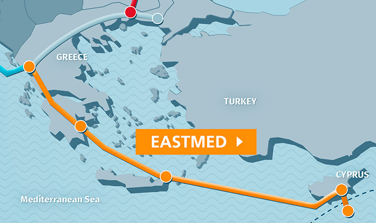 Image result for eastmed pipeline
